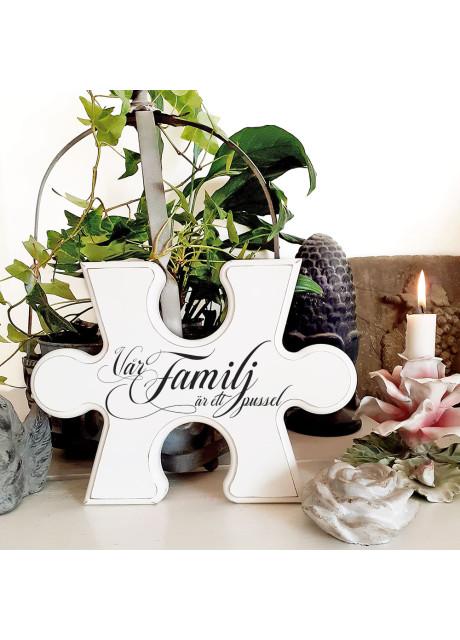 Pusselbit - Vår familj är ett pussel