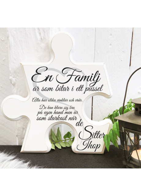 Pusselbit - En familj