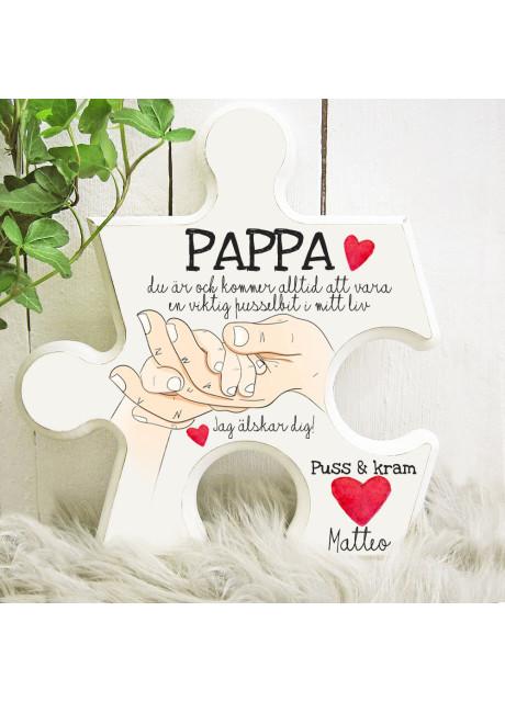 Pusselbit - Pappa - En viktig pusselbit i mitt liv