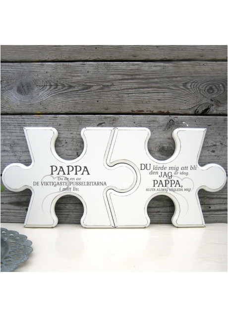 Pusselbitar - Pappa Du är en av de viktigaste pusselbitarna i mitt liv