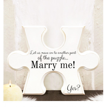 Pusselbit - Marry me!